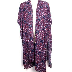 Torrid Kimono Kaftan Swimsuit Cover Up SZ 1X 2X